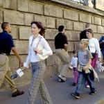 Прогулка по Москве. Август 2005 года. Тогда на него никто не обращал внимания :)……