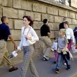 Прогулка по Москве. Август 2005 года.Тогда на него никто не обращал внимания……