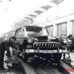 Первый опытный экземпляр ГАЗ-21. Март 1955 года…