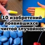 10 изобретений, появившихся по чистой случайности