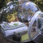 Attrap reves — французский отель из надувных прозрачных капсул…