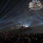 Невероятный по масштабам фейерверк в Кувейте