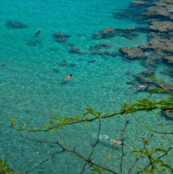 Райские уголки с прозрачной водой.
