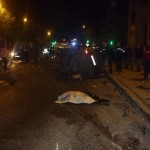 Ночью, 22 сентября 2012, в Кирове 21-летний ублюдок кавказской национальности на папином БМВ Х5 с бл…