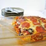 То ли пицца, то ли паста, то ли запеканка
