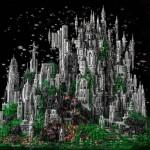 Lego город. Собран всего из 200 тысяч деталек….