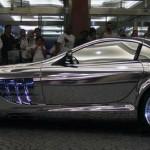 Автомобиль созданный из белого золота для нефтяного миллиардера из города Абу-Даби, Mercedes V10 Qua…