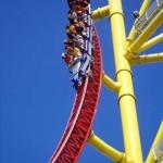 Аттракцион «Top Thrill Dragster» считается самым страшным и самым высоким аттракционом в мире (Санда…