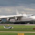 Самый большой в мире самолет — это Ан-225 «Мрiя» (укр. — «мечта»)